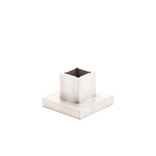 Load image into Gallery viewer, Aluminum Square Candle Holder