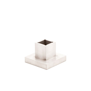 Aluminum Square Candle Holder