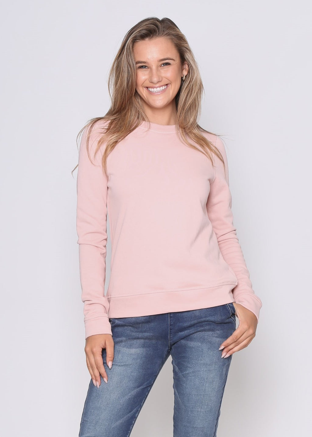 HAYDEN SWEATER - BLUSH
