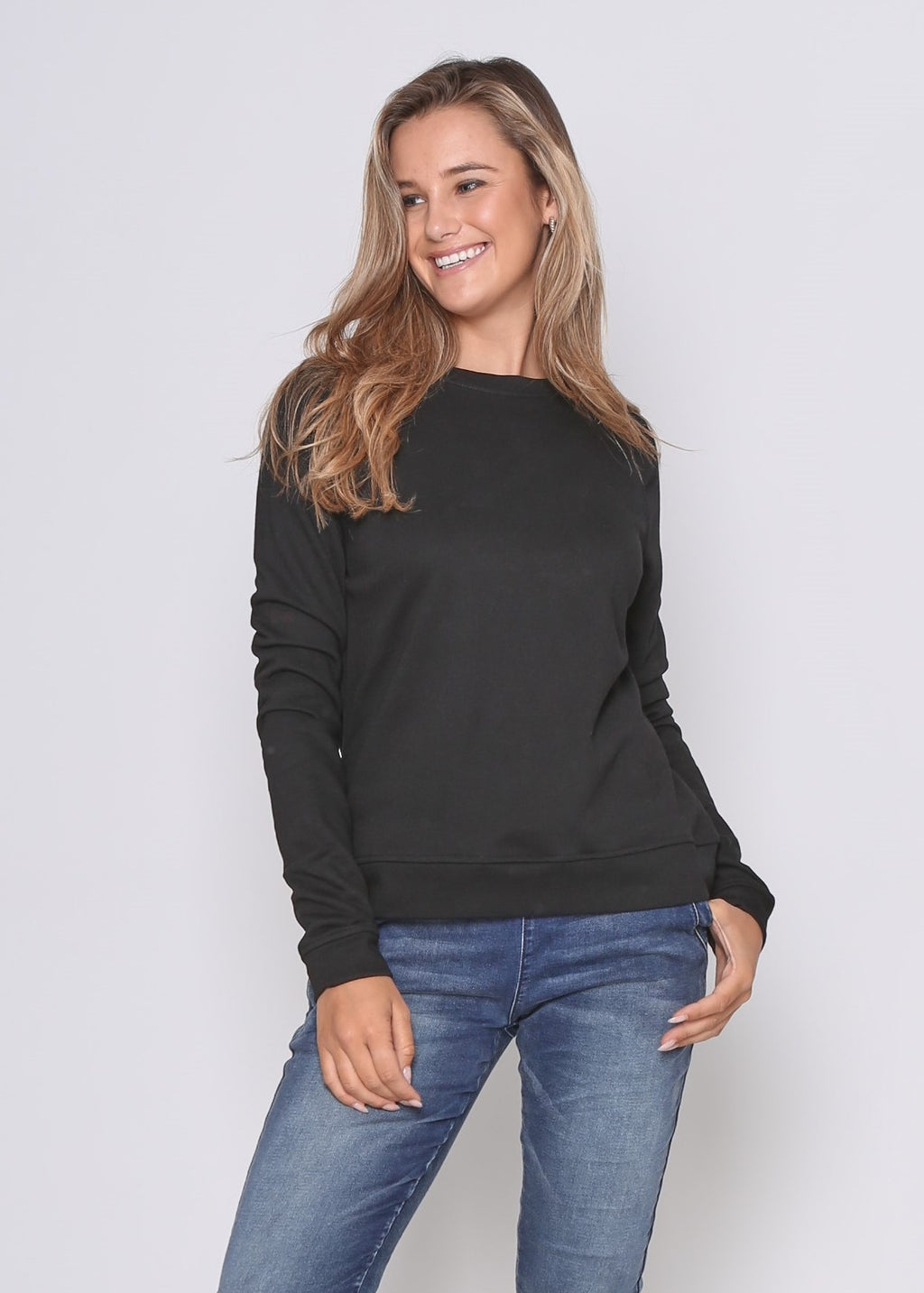 HAYDEN SWEATER - BLACK