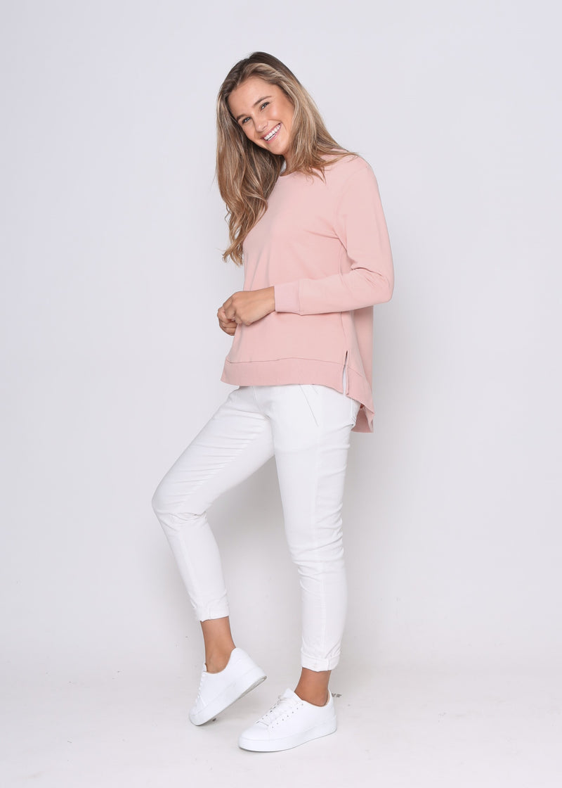 HESTON JUMPER - BLUSH