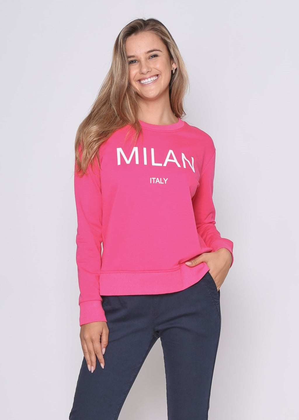 MILAN SWEATER - PINK