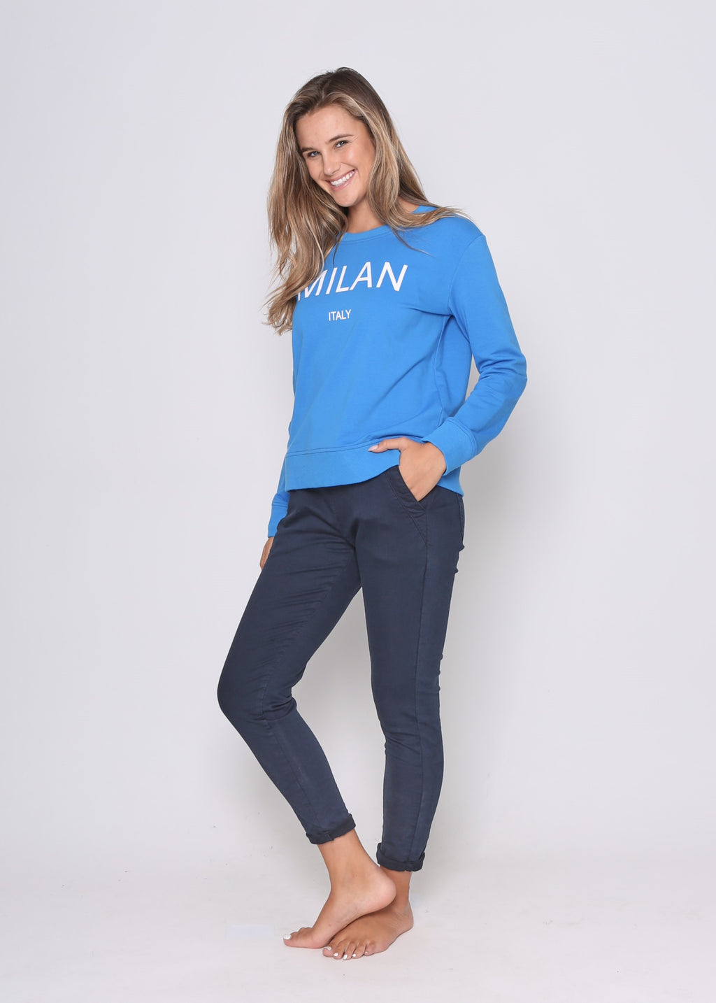 MILAN SWEATER - ROYAL BLUE