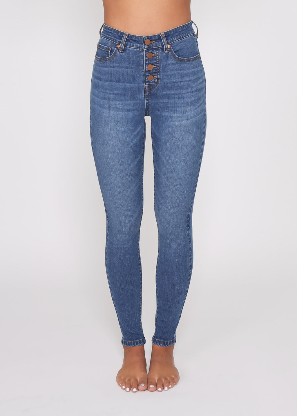 JUST IN - ADELE SKINNY JEAN - BLUE