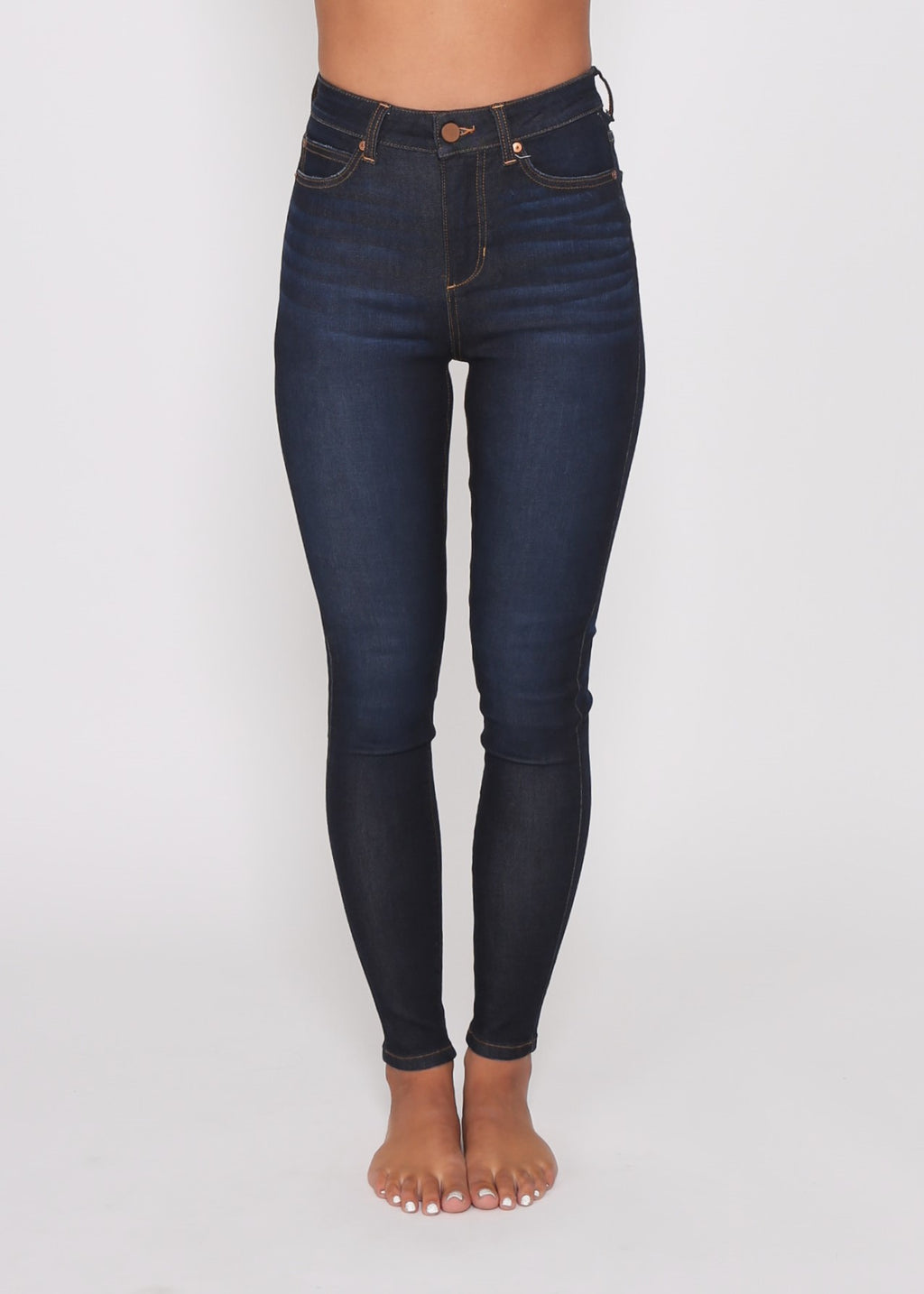 JUST IN - NATASHA SKINNY JEAN - DARK INK