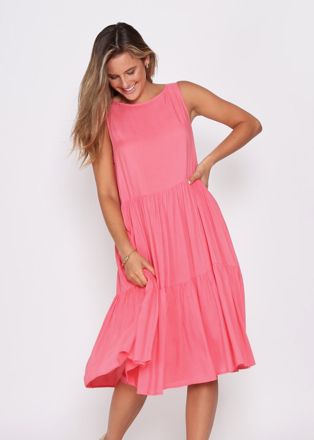 NEW - REESE DRESS - MELON