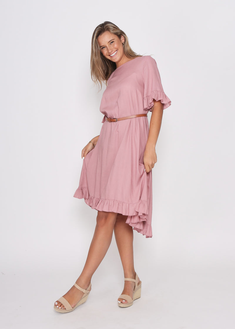 NEW - BROOKE DRESS - BLUSH