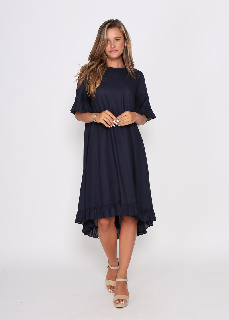 NEW - BROOKE DRESS - NAVY