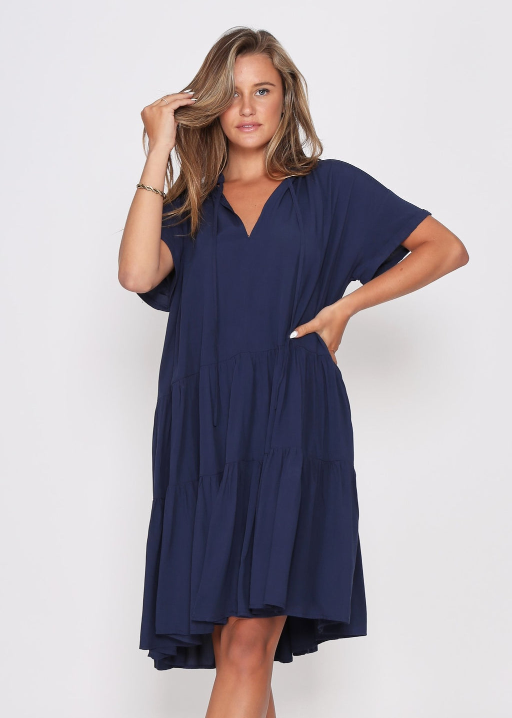 NEW - KARA DRESS - NAVY