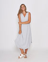 BEL DRESS - GREY MARL