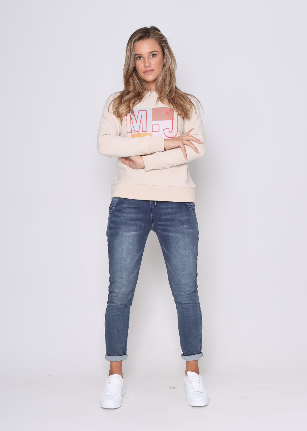 MJ LUXE SWEATER - SAND