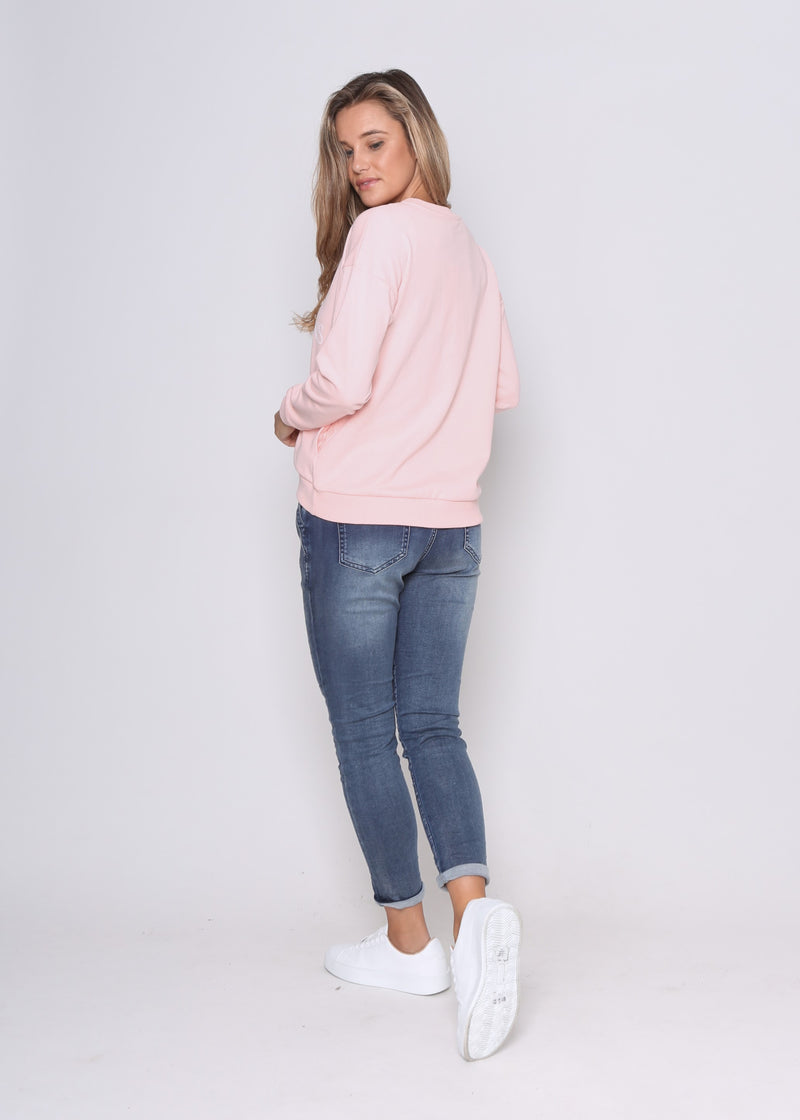 MJ SWEATER - PINK