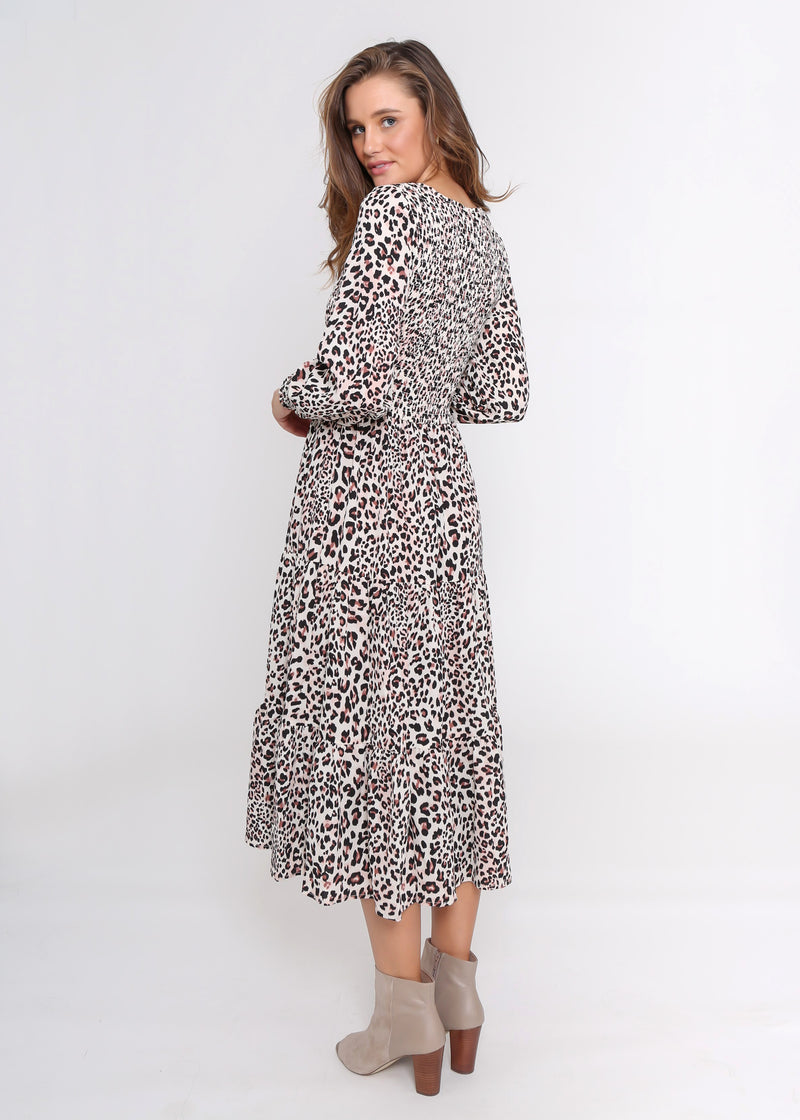 PHOENIX DRESS - CHEETAH PRINT
