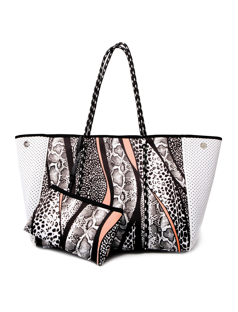 AVA NEOPRENE BAG - MIXED ANIMAL