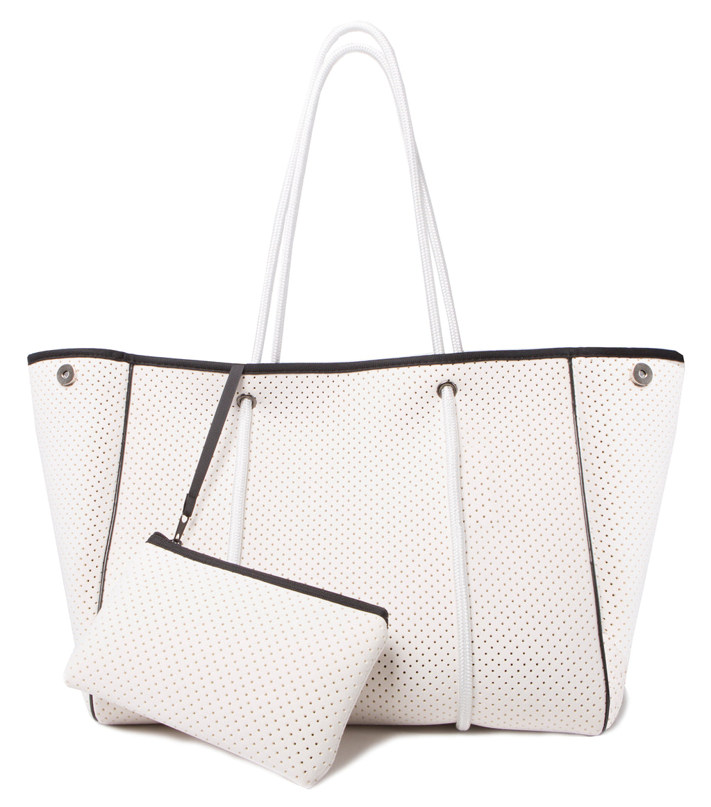 AVA NEOPRENE BAG - WHITE