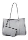 AVA NEOPRENE BAG - GREY