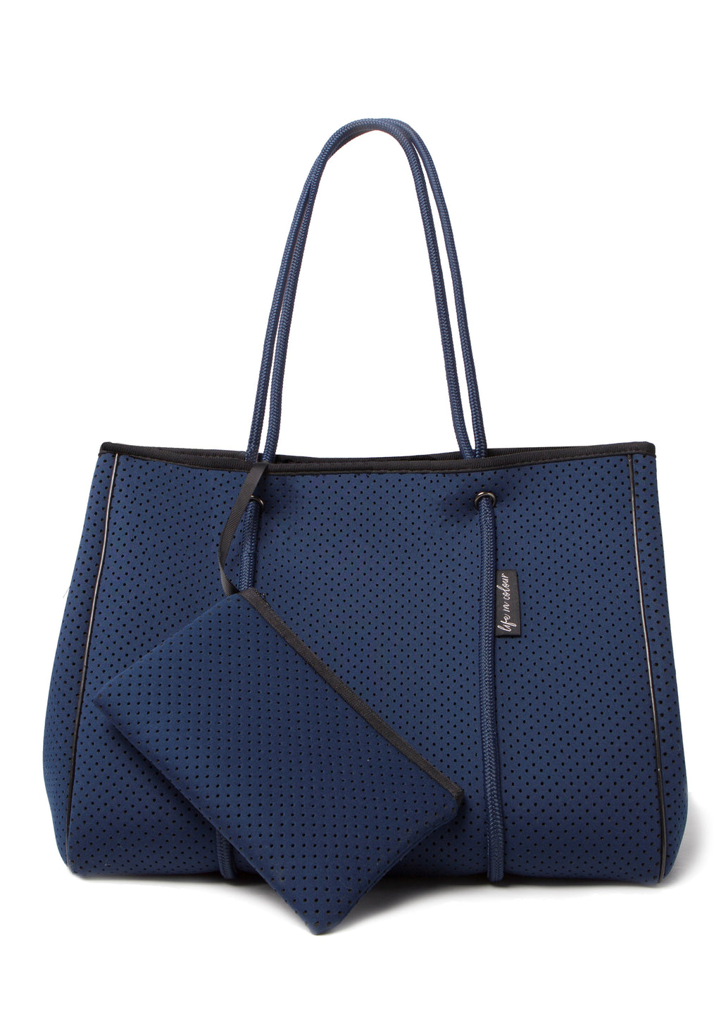 AVA NEOPRENE BAG - NAVY