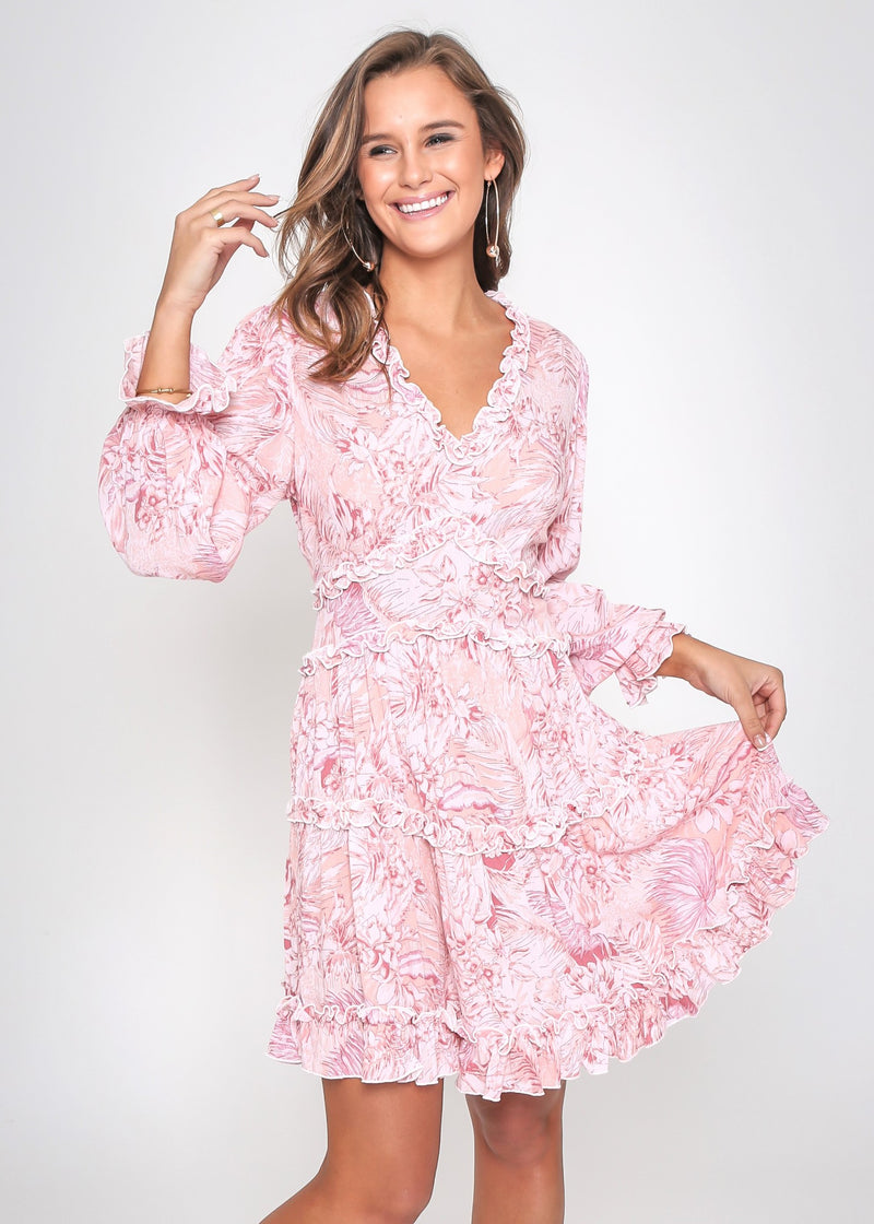 BONNIE DRESS - D.ROSE FLORAL
