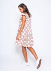 SHANLY DRESS - ROSE DOT