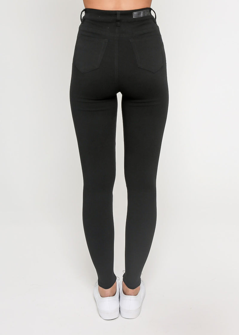 LARA SUPER STRETCH SKINNY JEAN - BLACK