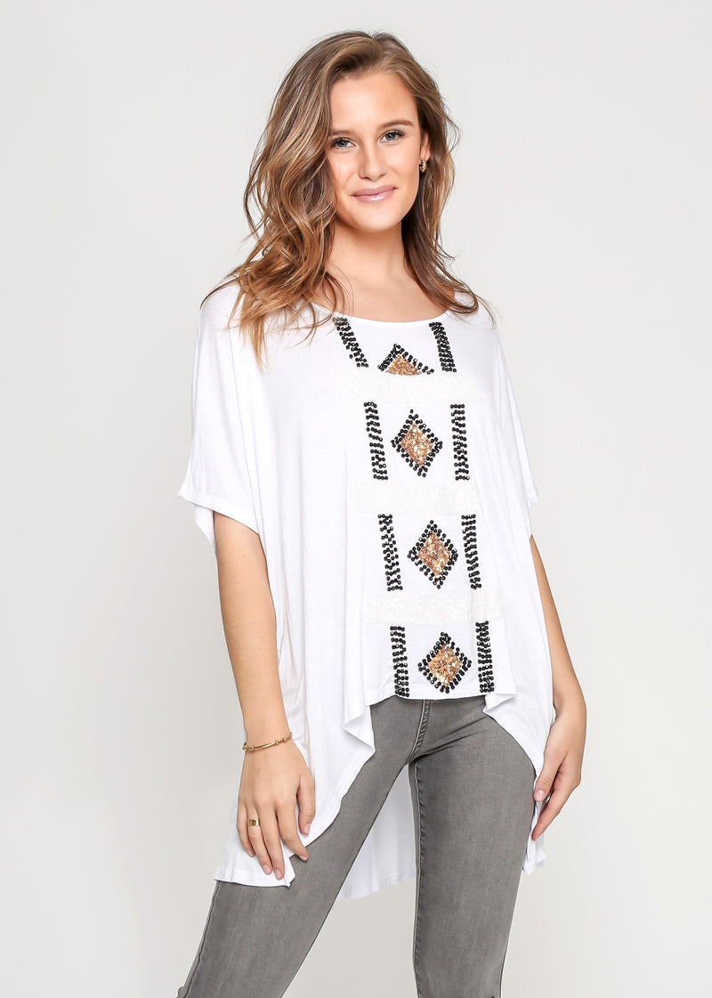 ARICA TOP - WHITE