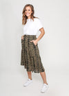 MILLY SKIRT - KHAKI LEOPARD