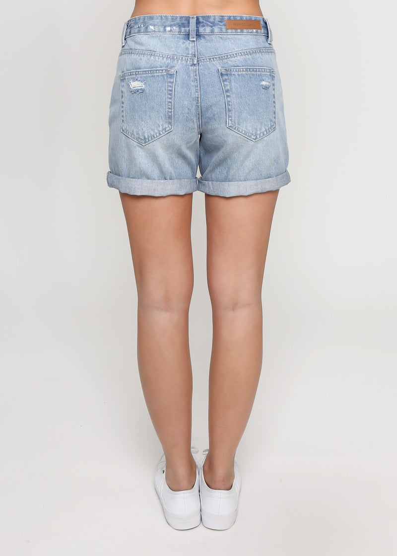 ALEX SHORTS - BLUE