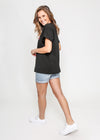 MILAN BOX TEE - BLACK