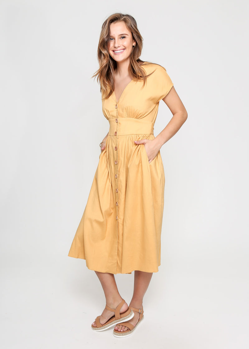 DOLLY DRESS - BUTTER