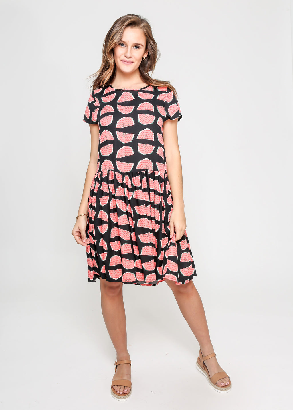 WATERMELON DRESS - BLACK