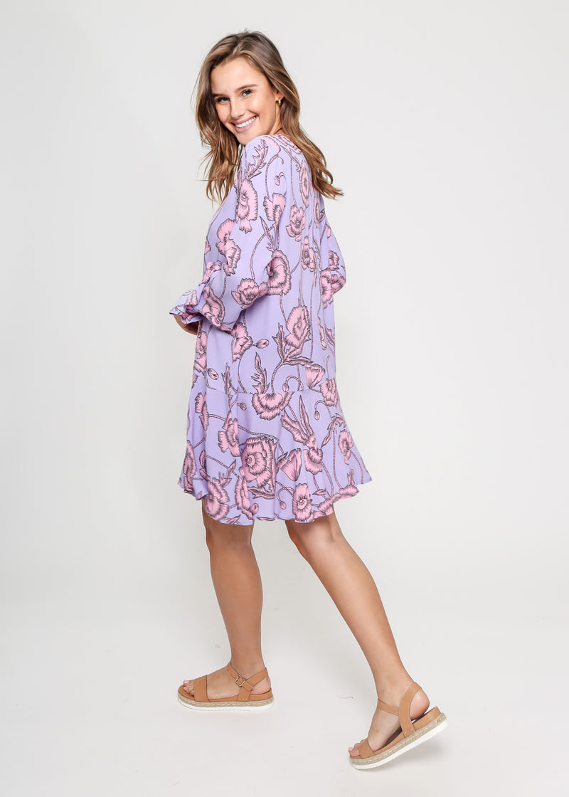 HEIDE DRESS - LILAC DREAMS