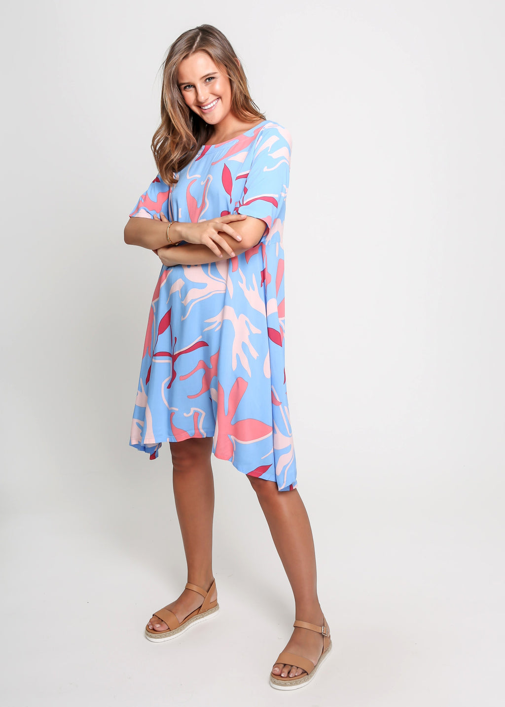 CARLEY DRESS - BLUEPRINT