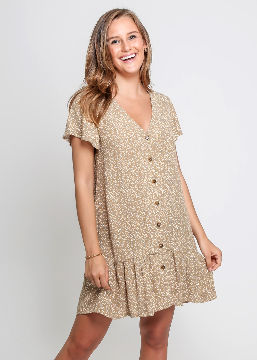 PIPPER DRESS - BEIGE DISSY