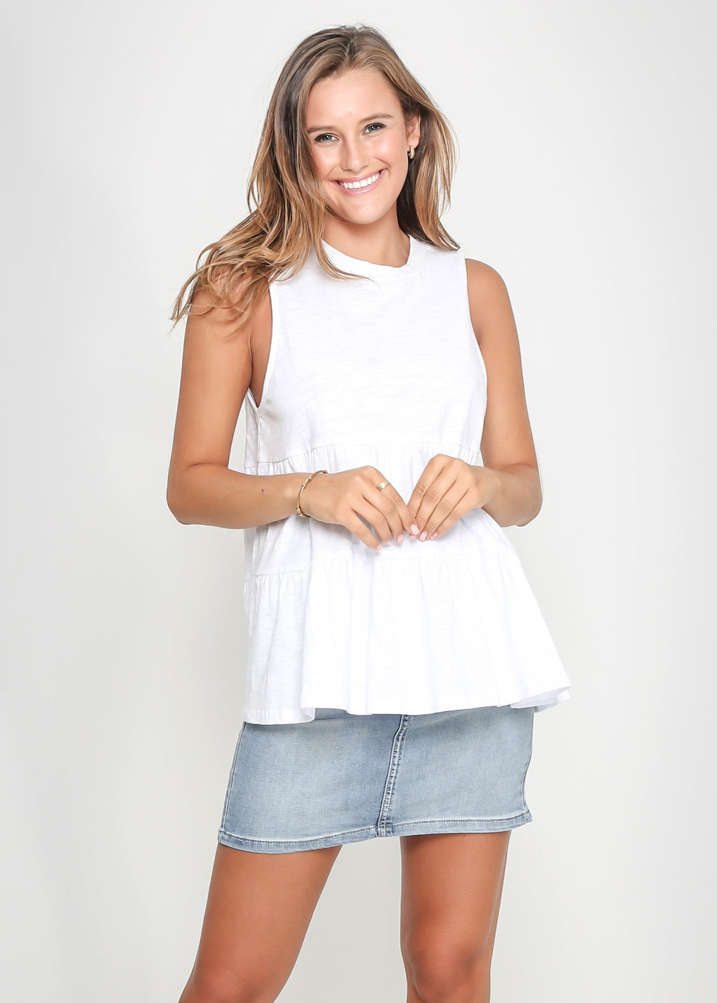 CHELSY TOP - WHITE - LAST STOCK