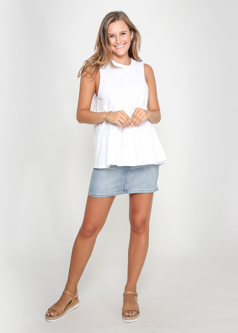 CHELSY TOP - WHITE