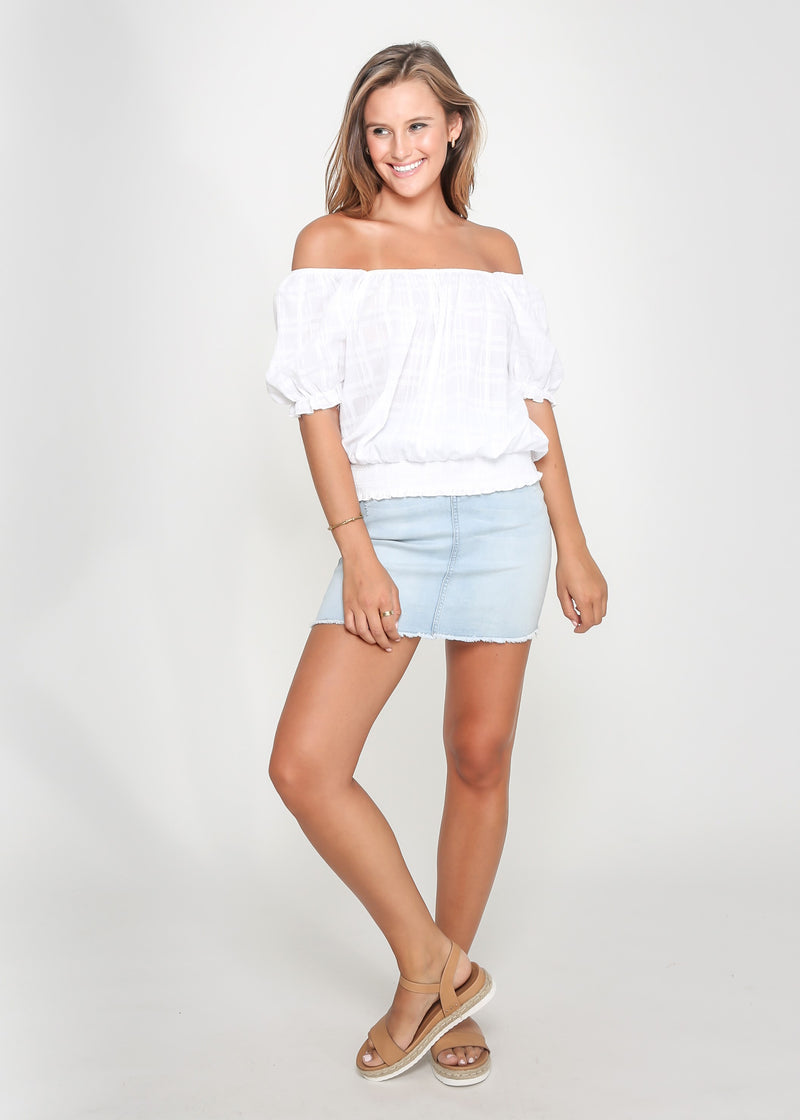 EVA TOP - WHITE