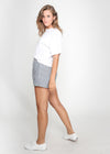 GENA SHORTS - NAVY STRIPE