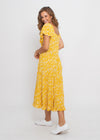 MIA DRESS - YELLOW FLORAL