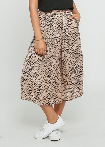 SURI DRESS - BLACK CHEETAH