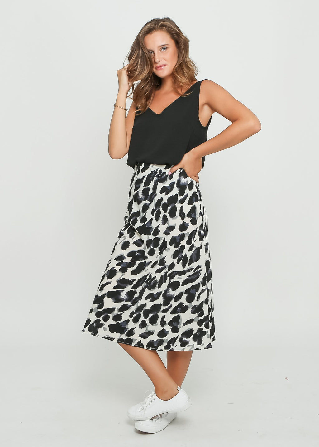 ALLA SKIRT - MIXED ANIMAL
