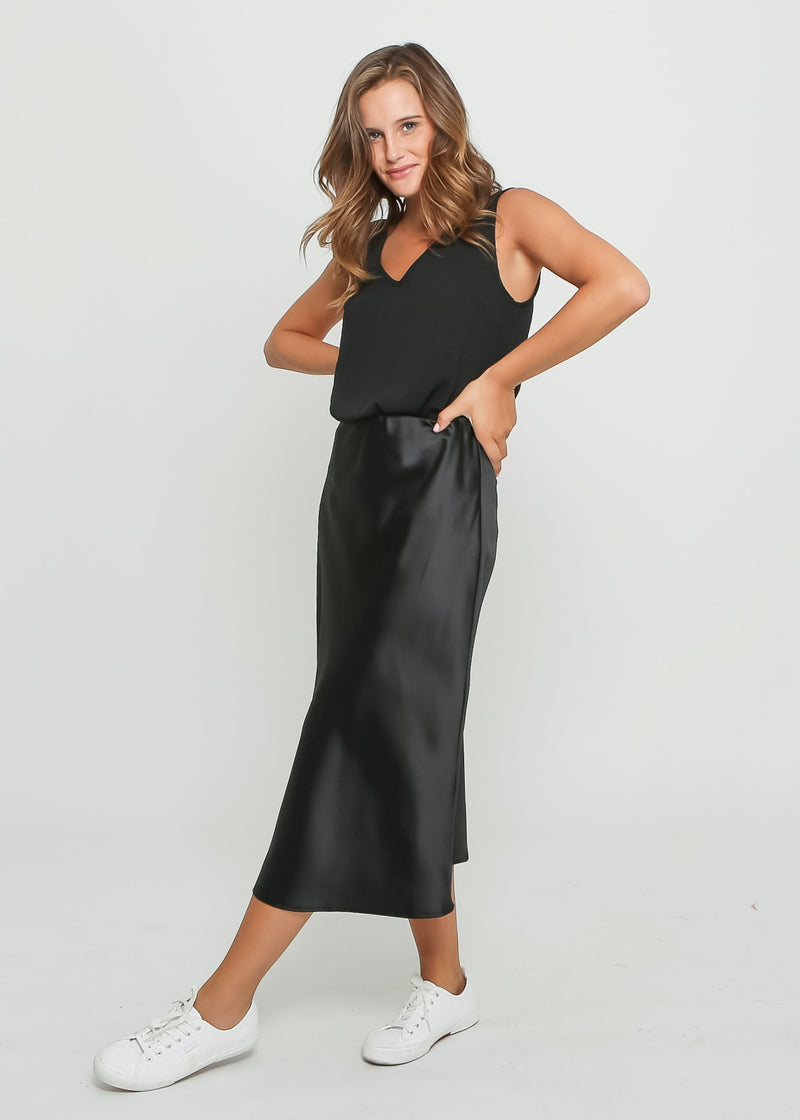 ALLA SKIRT - BLACK