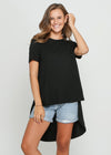 HARLEY TOP - BLACK