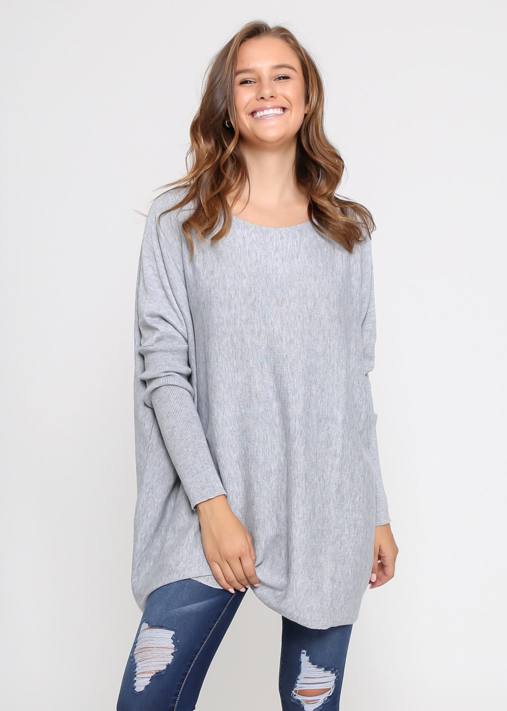 COOPER KNIT - GREY
