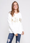 MILAN SWEATER - WHITE