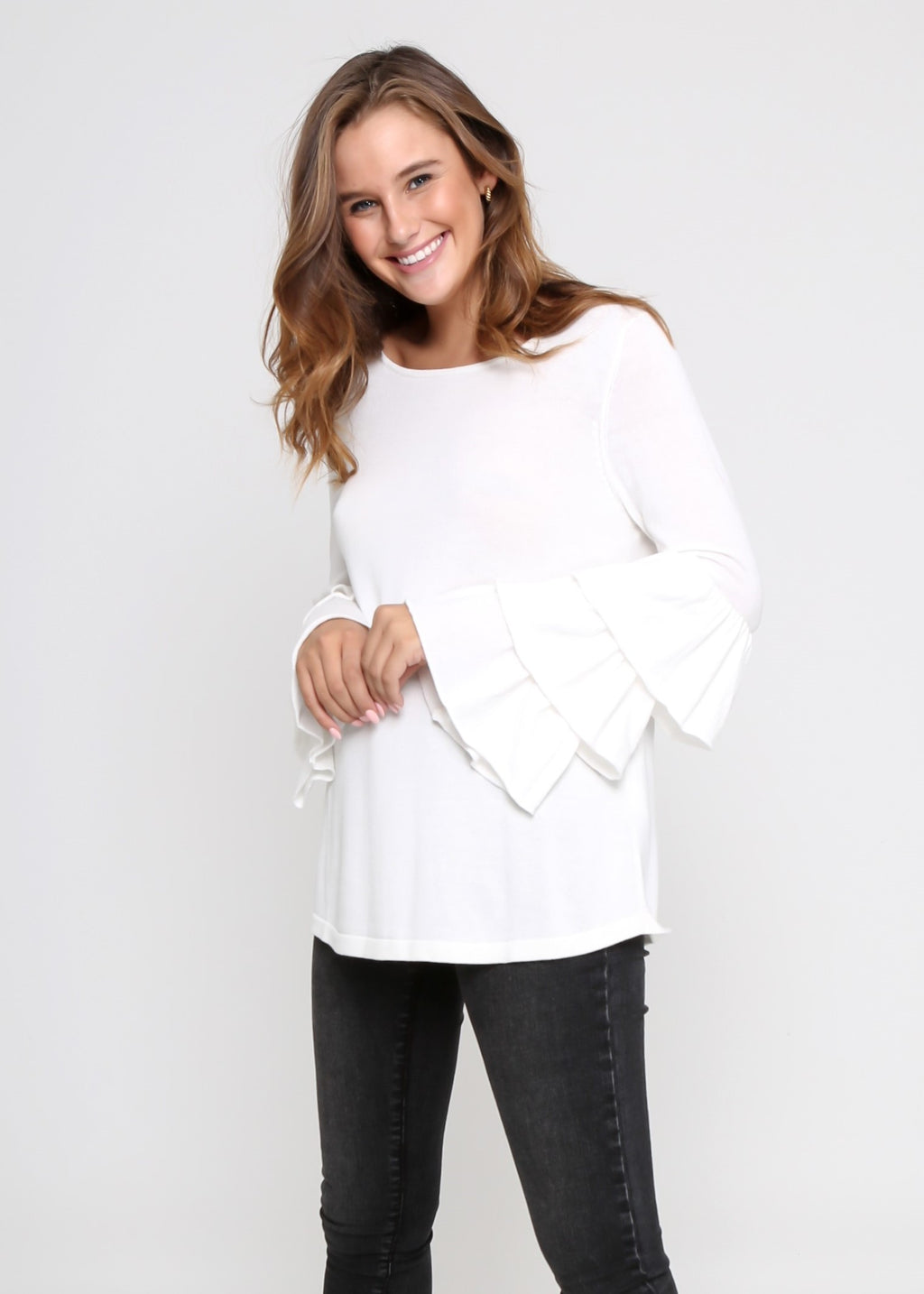 LYSSA KNIT - WHITE