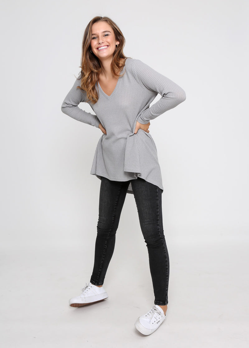 SAMMY TOP - GREY
