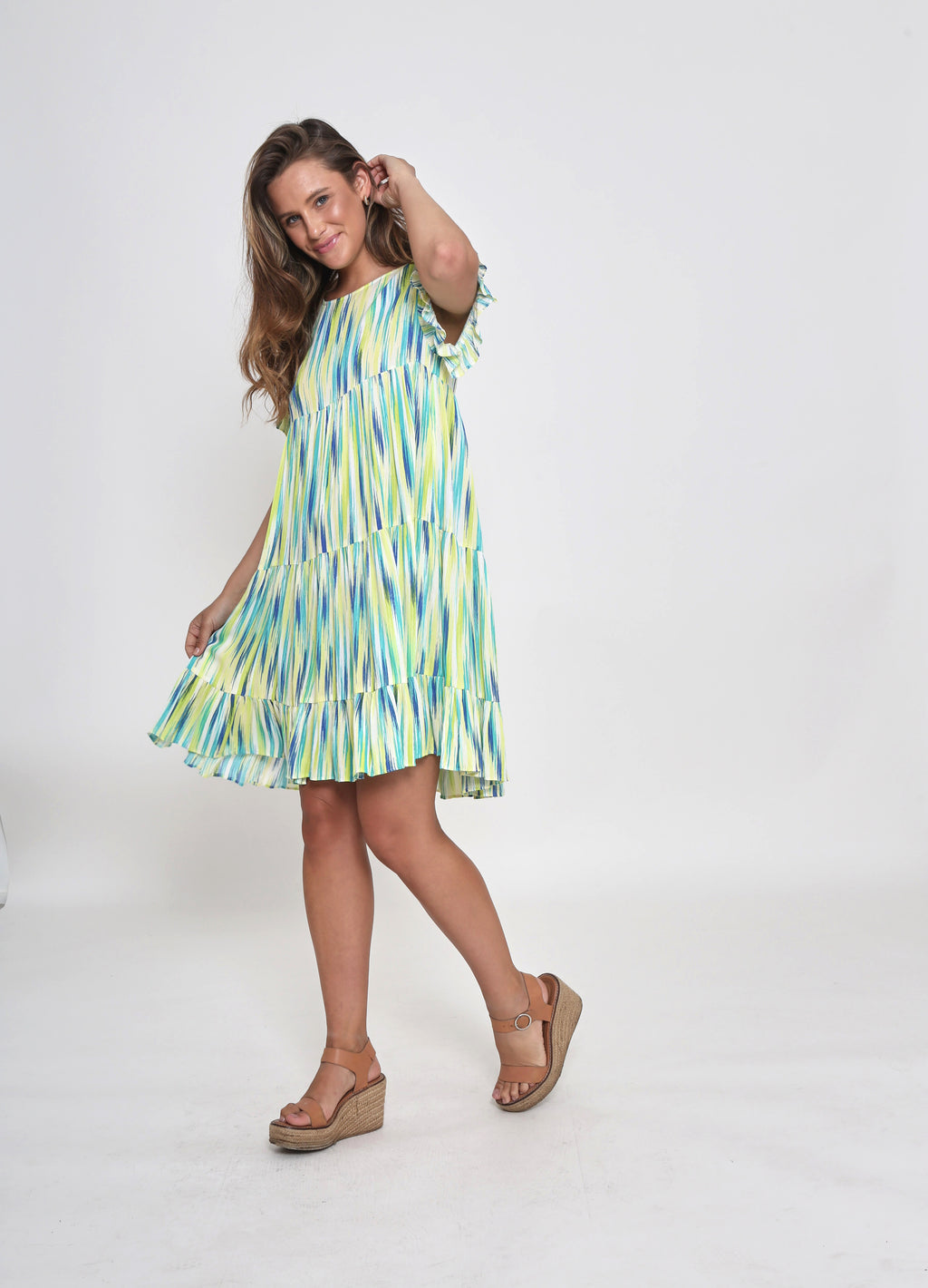 NEW - ADA DRESS - SUNSHINE PRINT