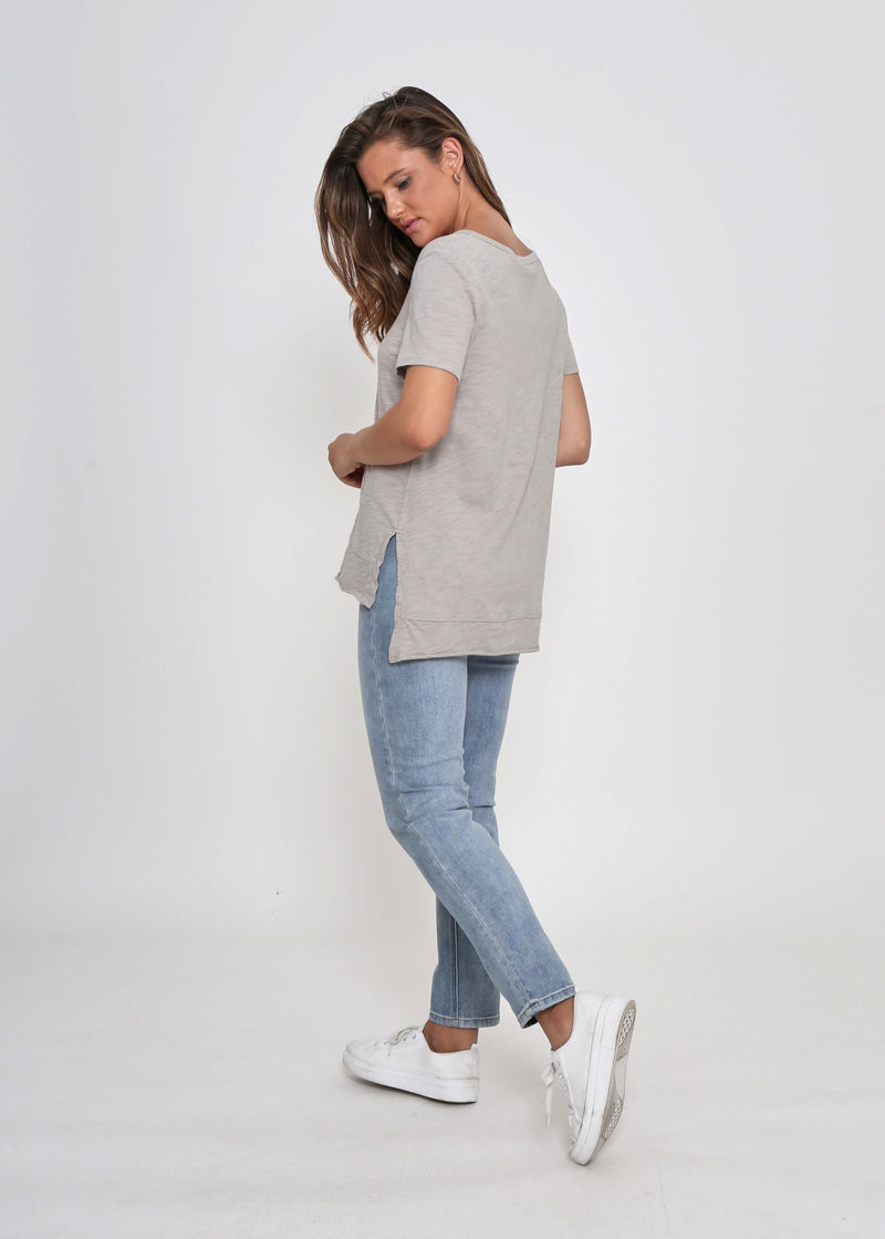 NEW - COOPER TEE - TOFFEE