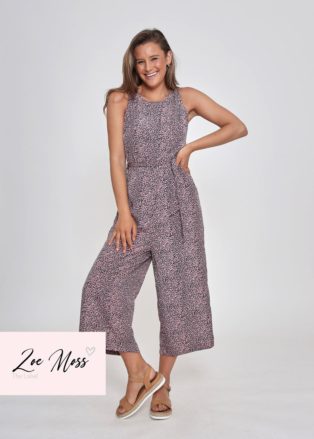 NEW - AYLA JUMPSUIT - LITTLE LEOPARD