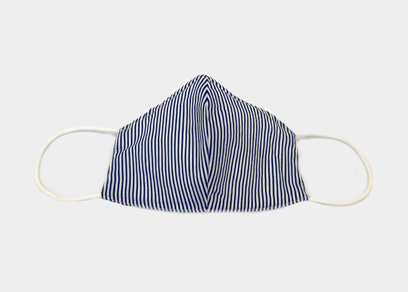 FREEDOM FACE COVERING - NAVY STRIPE MJ